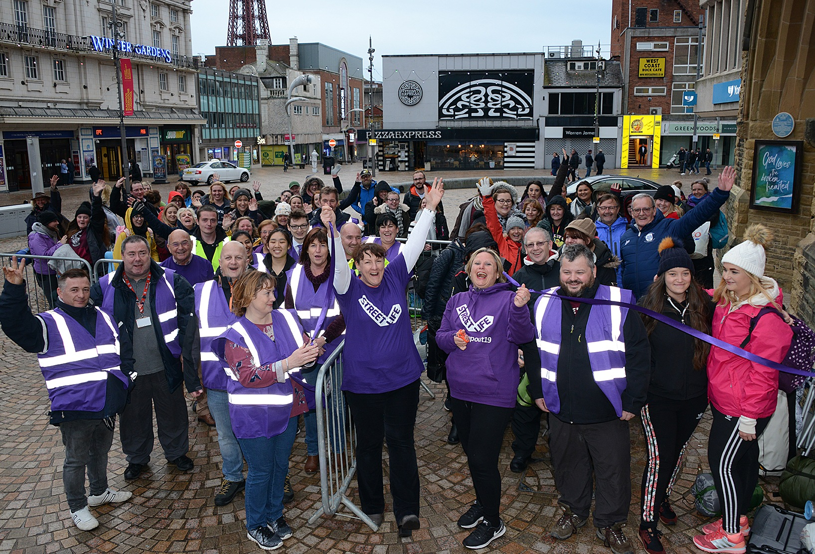 TAKE TO THE STREETS TO SUPPORT YOUTH HOMELESS CHARITY