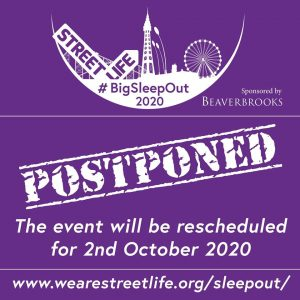 UPDATE: #BigSleepOut2020 Postponed until October 2020